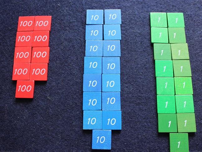 Montessori les timbres