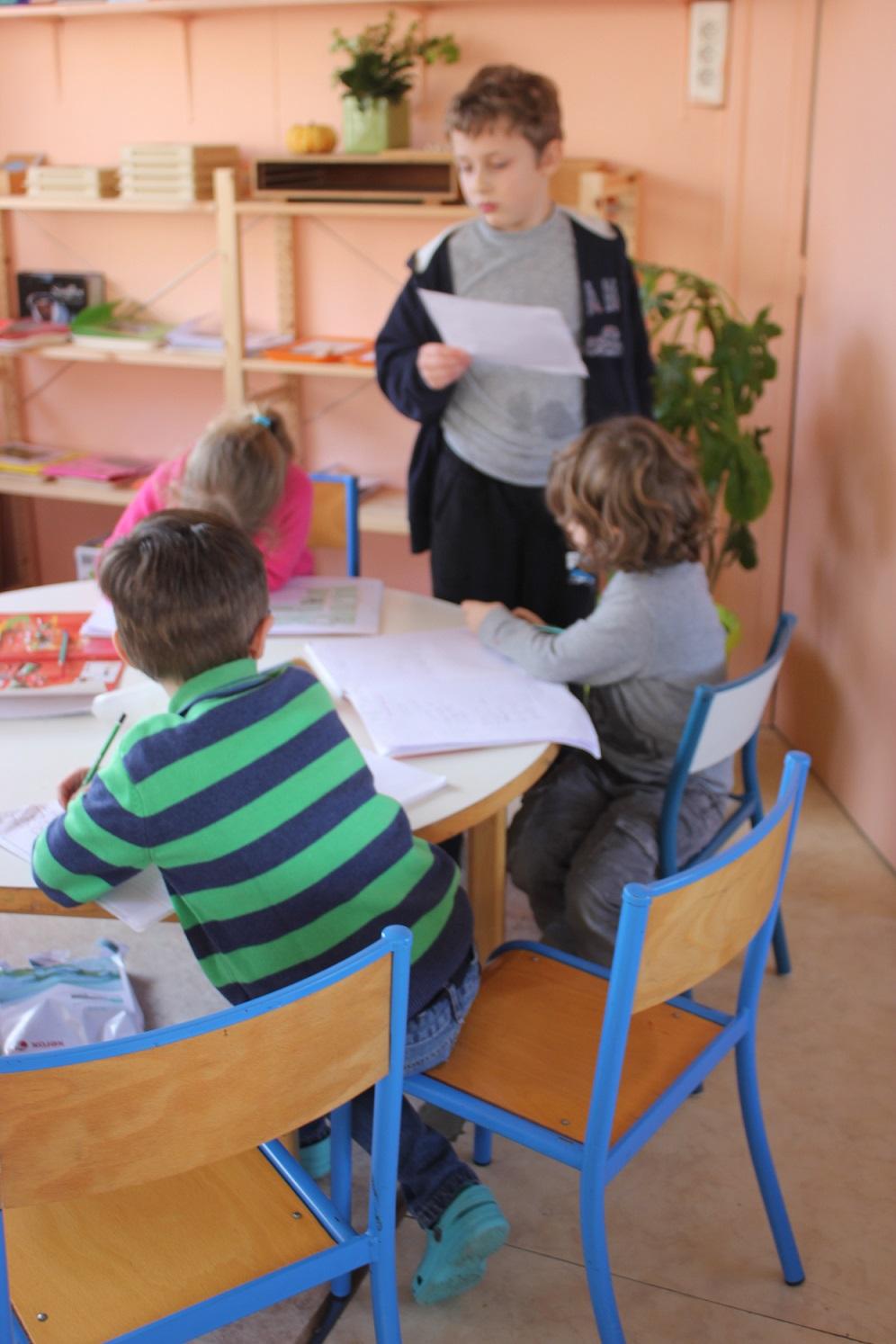 Montessori responsabilité
