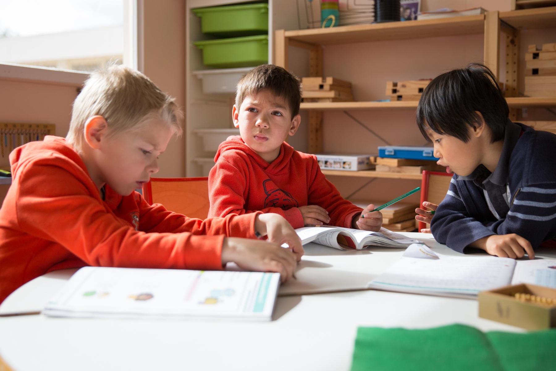 Montessori confiance